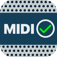 MIDI Check iOS App Icon